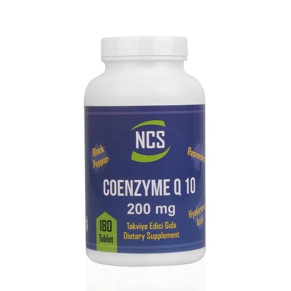 NCS Coenzyme Q 10 Resveratrol Hyaluronic Acid Black Pepper 180 Tablet