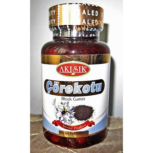 Çörekotu Kapsul 500 mg 60 Kapsul