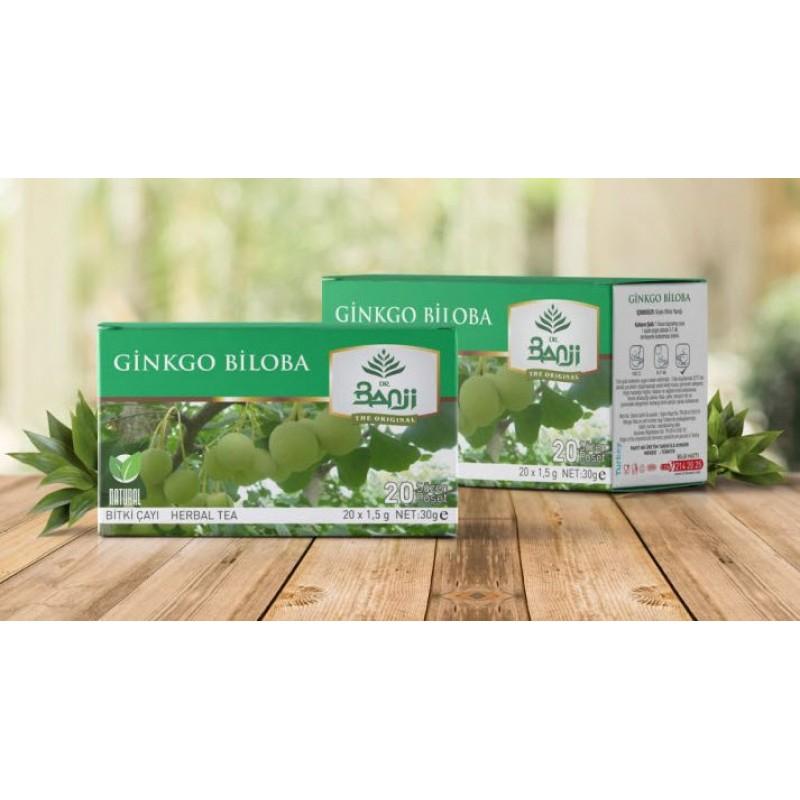 Ginkgo Biloba Çayı 20 süzen poşet 2 kutu