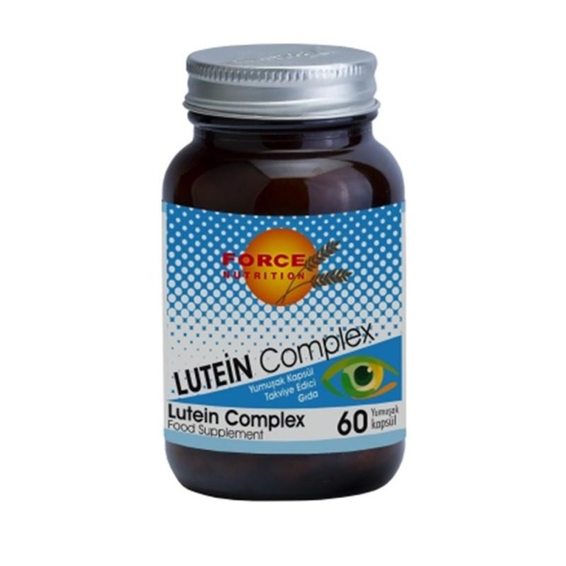 Force Nutrition Lutein complex 60 Yumuşak Kapsül