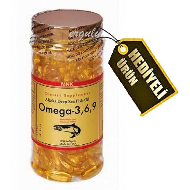MNK Omega 3.6.9 Balık Yağı 200 Softgel