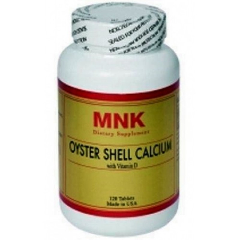 Mnk Oyster shell Calcium With Vitamin D 120 Tablet