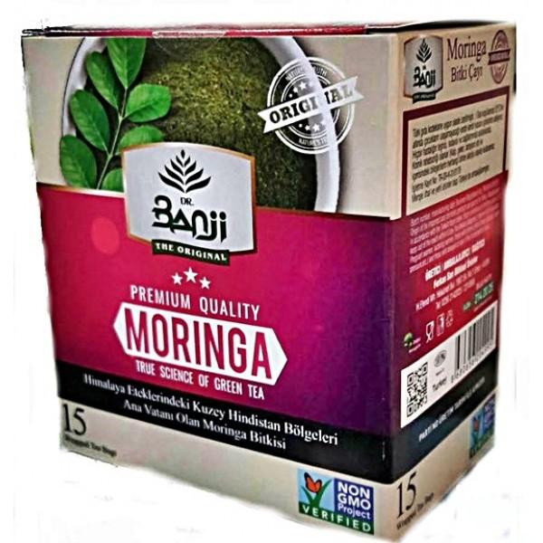 Moringa Bitki Çayı 15 süzen poşet