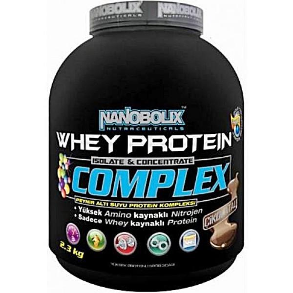 Nanobolix Whey Protein Complex 2.3 kg