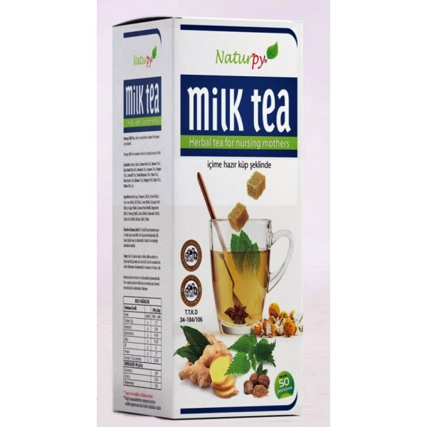 Naturpy Milk Tea Emziren Anne Çayı