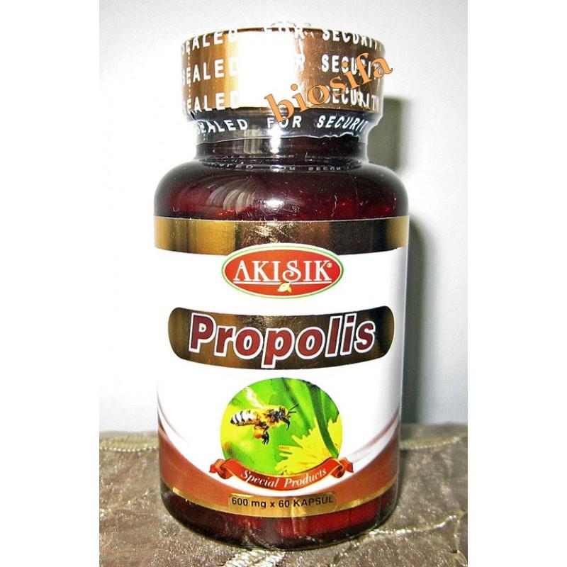 Akışık Propolis 600 mg 60 Kapsul