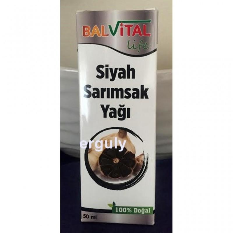BalVital Siyah Sarımsak Yağı 50 ml