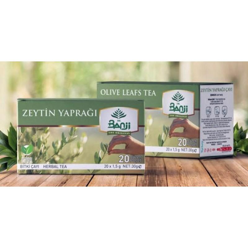 Zeytin Yaprağı Çayı 20 süzen poşet